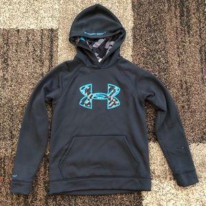 Youth Dark Gray UA Hoodie